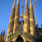 Picture - New Side of Familia Sagrada in Barcelona.