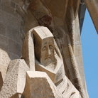 Picture - Sculpture from Sagrada Familia in Barcelona.