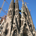 Picture - The old Barcelona cathedral tower.