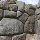 Picture - Massive rock walls of Sacsayhuaman, Cusco was used by Spanish Conquistadors during Incan siege.