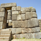 Picture - The Incan ruins of Sacsayhuaman outside of Cusco.