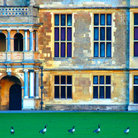 Picture - Geese in front of Audley End House near Saffron Walden.