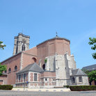 Picture - Saint-Julien church in the center of the small town of Ath.