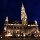 Picture - Sainte-Catherine at night, Brussels.