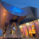 Picture - The Lowry Center at Salford Quays.