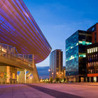 Picture - The Lowry Center in Manchester.