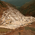 Picture - The ancient salt ponds of Salinas.