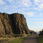 Picture - Path beside Salisbury Crags.