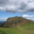 Picture - The summit of Arthur's Seat.