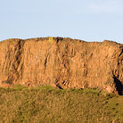 Picture - The Salisbury Crags at Holyrood Park in Edinburgh.