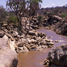 Picture - River in the Shaba National Reserve.