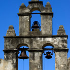 Picture - Bells on Mission San Juan in San Antonio Missions National Historic Park, Texas.