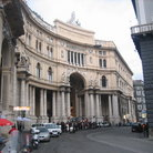 Picture - Entrance to Galleria Umberto shopping arcade in Naples.