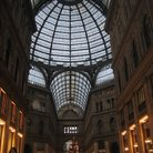 Picture - Attractive glass dome and arcade of Galleria Umberto.