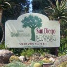 Picture - Sign at San Diego Botanic Garden in Encinitas.