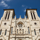 Picture - The grand facade of the San Fernando Cathedral in San Antonio.