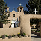 Picture - San Francisco de Asis Church in Rancho de Taos.