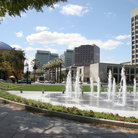 Picture - Fountains in downtown San Jose.