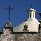 Picture - Detail of the Mission San Jose in San Antonio.