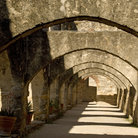 Picture - Arches of Mission San Jose in San Antonio Missions National Historic Park, Texas.
