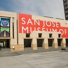 Picture - Exterior view of the San Jose Museum of Art.