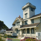 Picture - Summer time at the historic Point Fermin Lighthouse in San Pedro.