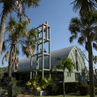 Picture - St Michael and all Angels Episcopal church on Sanibel Island.