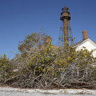 Picture - Old lighthouse on Sanibel Island.