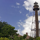 Picture - The old historic lighthouse on Sanibel Island.
