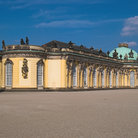 Picture - Sanssouci Palace in Potsdam.