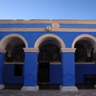 Picture - Arches at the Santa Catalina Monastery in Arequipa.