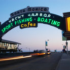 Picture - Santa Monica Pier, located on the coast of Santa Monica.