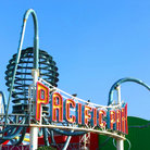 Picture - Pacific Park on the Santa Monica Pier.