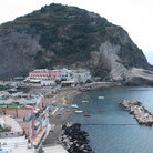 Picture - Sant Angelo town and beach on the island of Ischia.