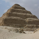 Picture - Step pyramid of of King Djoser in Saqqara, outside of Cairo.