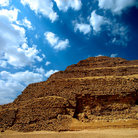 Picture - Zoser pyramid at Saqqara.