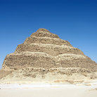 Picture - The step pyramid in Saqqara, the tomb of the third Dynasty ruler Djoser or Zoser.
