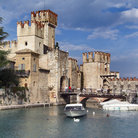 Picture - The castle in Sirmione.