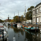 Picture - A canal in Schiedam.