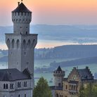 Picture - The tower of Neuschwanstein castle.