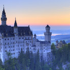 Picture - The Castle Neuschwanstein in Bavaria.