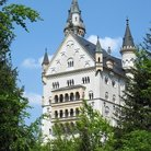 Picture - View of the Neuschwanstein Castle, Munich.