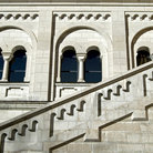 Picture - Stairs and arches of Schloss Neuschwanstein.
