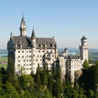 Picture - Schloss Neuschwanstein, one of the fairy tale castles of King Ludwig II of Bavaria.