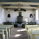 Picture - Interior of the Schokland churhc.