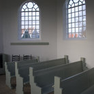 Picture - Interior of a church in Schokland.
