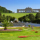 Picture - Gardens at Schonbrunn Palace, Vienna.