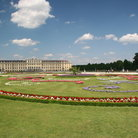 Picture - The gardens of Schonbrunn Palace in Vienna.
