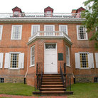 Picture - The brick mansion of the Schuyler Mansion State Historic Site in Albany.