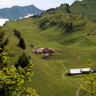 Picture - A farm on the Schynigge Platte.